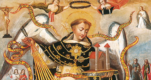Saint Thomas Aquinas, Protector of the University of Cusco